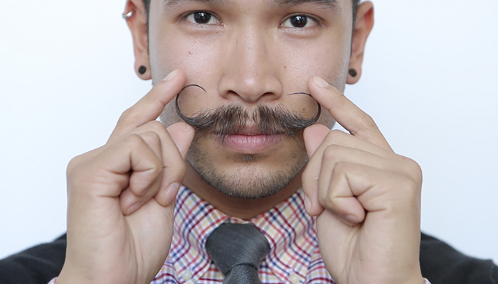 Do you really want a mustache