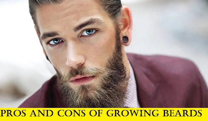 pros of growing a beard