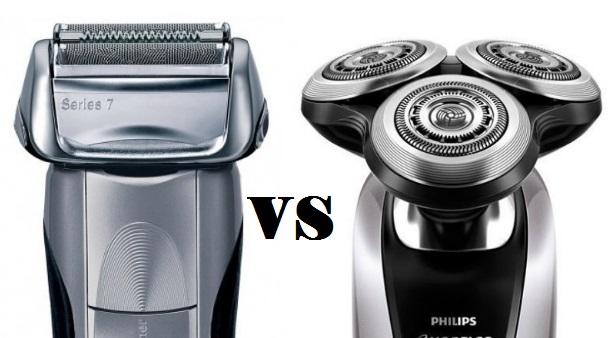 rotary vs foil shaver