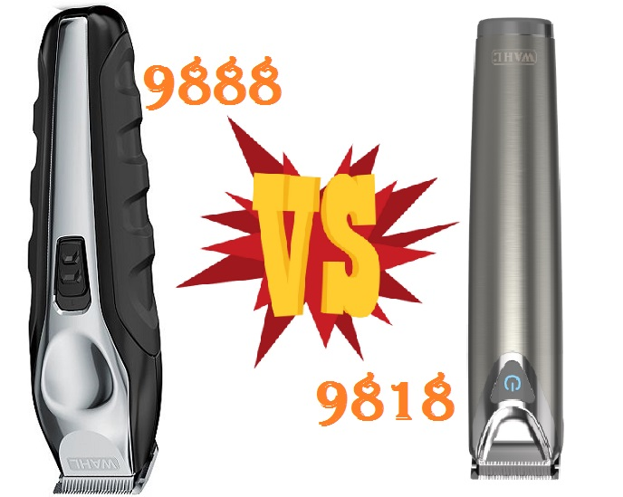 Wahl 9818 vs 9888 comparison