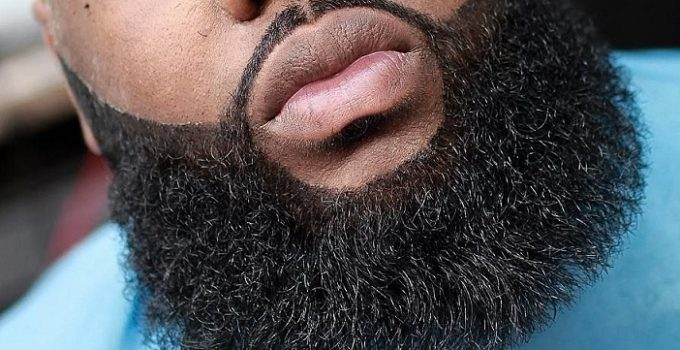 Black Man Beard Grooming
