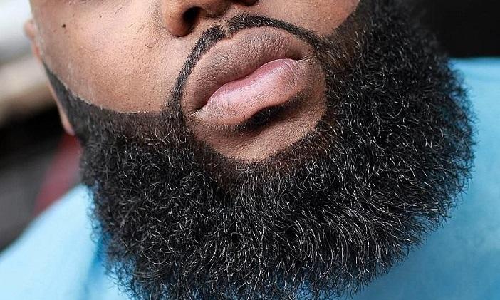 Black Man Beard Grooming